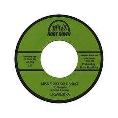 "<!--020120814048027-->Breakestra - 'Boogie Blessed/ Miss Funky Sole Shake' [(Black) 7"" Vinyl Single]"