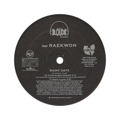 "Raekwon - 'Rainy Dayz/ Rainy Dayz (Remix)' [(Black) 12"" Vinyl Single]"