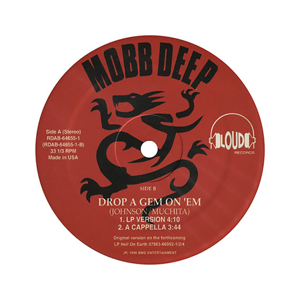 "<!--019960101011865-->Mobb Deep - 'Drop A Gem On 'Em' [(Black) 12"" Vinyl Single]"