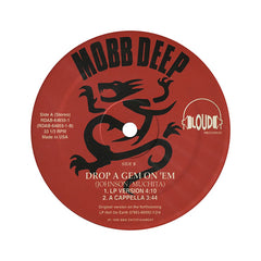 "<!--019960101011865-->Mobb Deep - 'Drop A Gem On 'Em' [(Black) 12"""" Vinyl Single]"