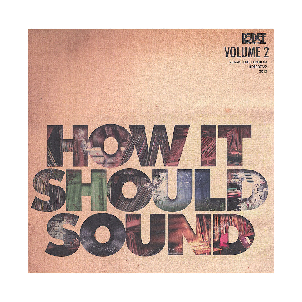 <!--020130716058326-->Damu The Fudgemunk - 'How It Should Sound Vol. 2' [(Green) Vinyl LP]