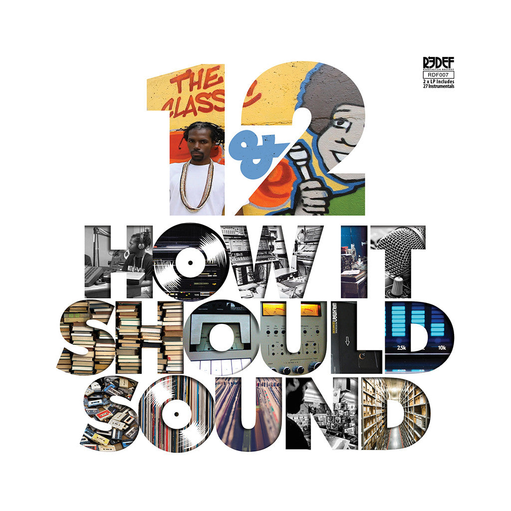 Damu The Fudgemunk - 'How It Should Sound Vol. 1 & 2' [(Black) Vinyl [2LP]]