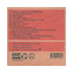 <!--2010111604-->Damu The Fudgemunk - 'Supply For Demand' [CD]