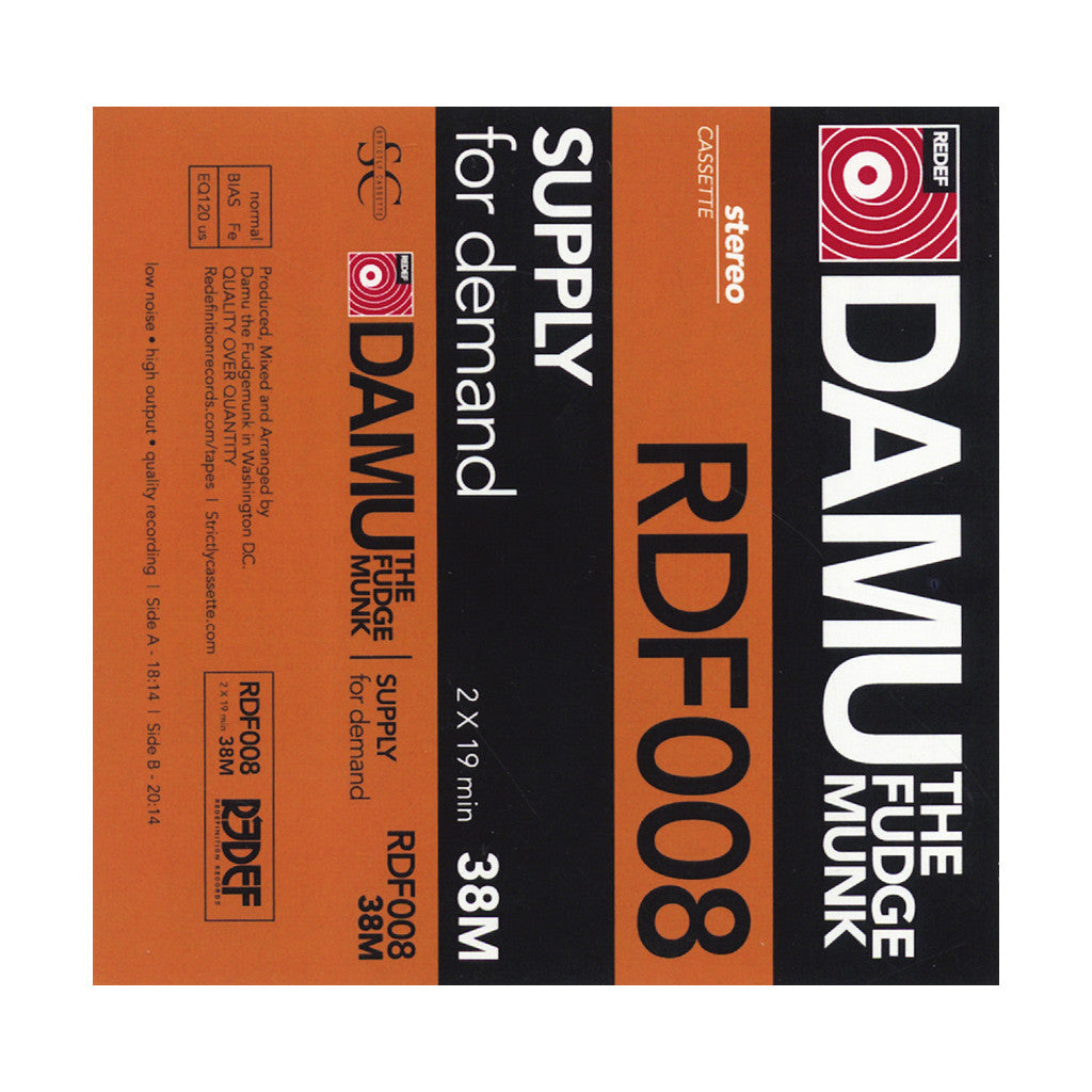 <!--020140225062580-->Damu The Fudgemunk - 'Supply For Demand' [Cassette Tape]