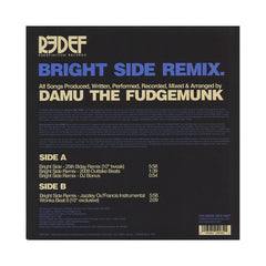 "<!--020120515044871-->Damu The Fudgemunk - 'Bright Side (Remix)/ Wonka Beat 8' [(Black) 10"" Vinyl Single]"