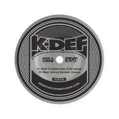 "K-Def - 'Back To Basics EP' [(Black) 7"" Vinyl Single]"