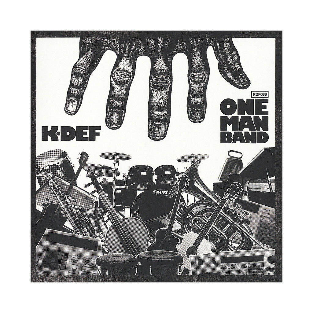<!--120130305053715-->K-Def - 'One Man Band' [CD]