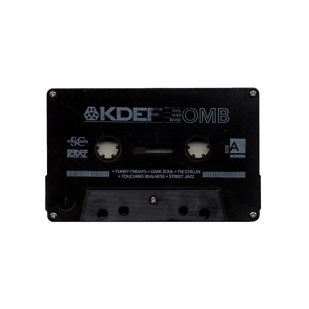 <!--020131210061529-->K-Def - 'One Man Band' [Cassette Tape]