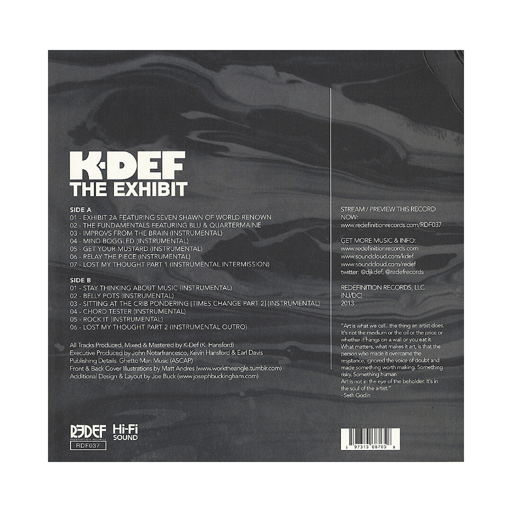 <!--120130430055652-->K-Def - 'The Exhibit' [CD]
