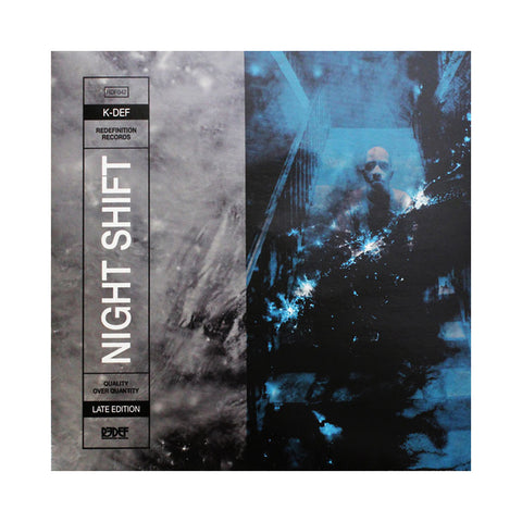K-Def - 'Night Shift: Late Edition' [(Black) Vinyl LP]