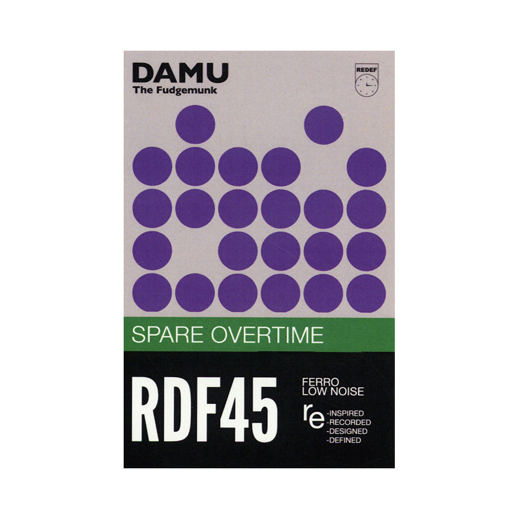 <!--020140204062082-->Damu The Fudgemunk - 'Spare Overtime' [(White) Cassette Tape]