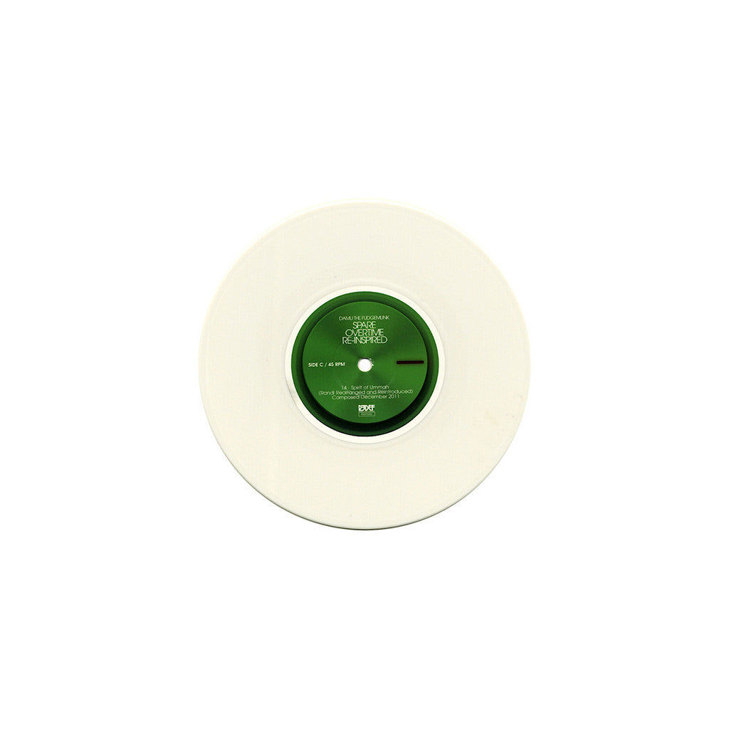 <!--2013121030-->Damu The Fudgemunk - 'Spare Overtime (Deluxe Edition)' [(White) Vinyl LP]