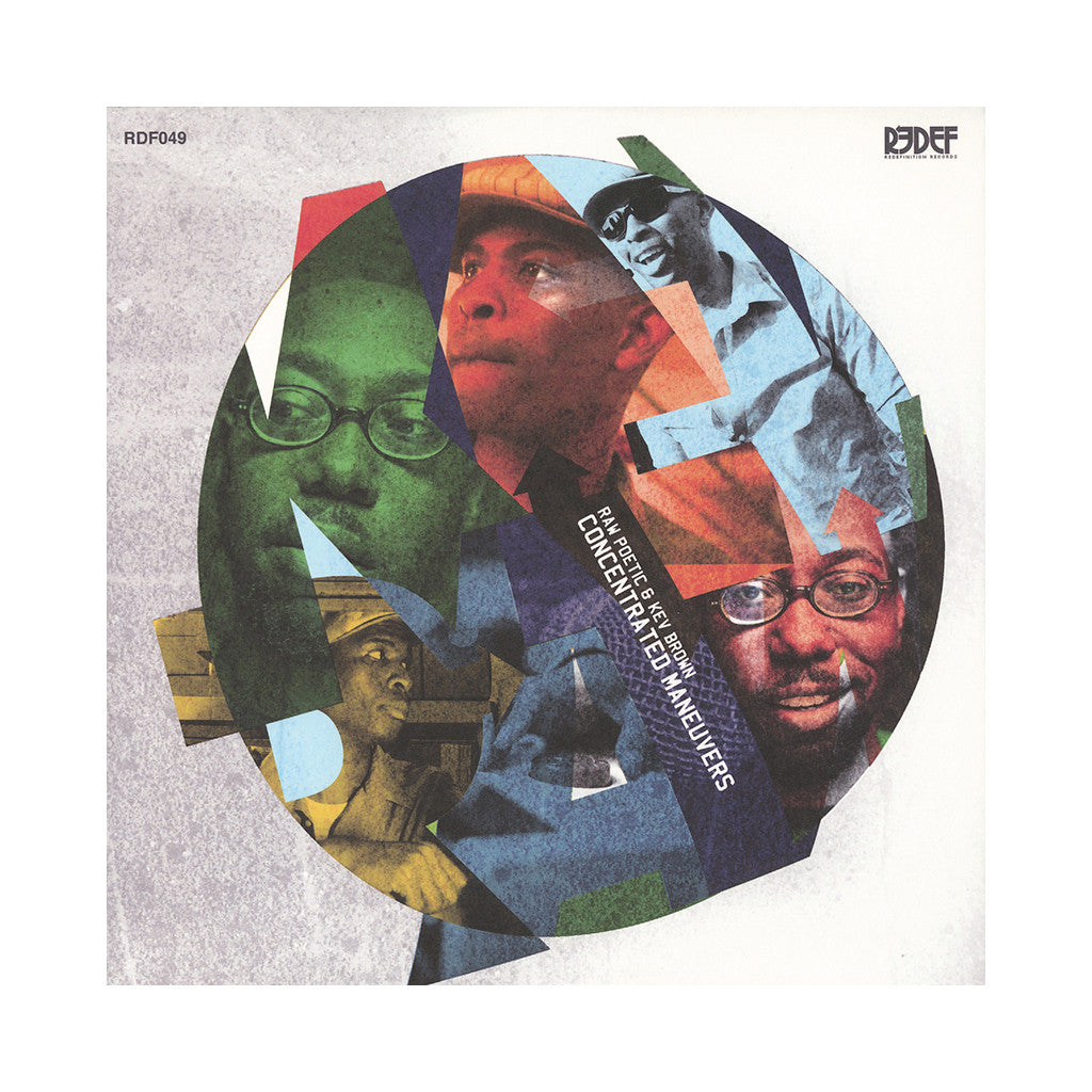 <!--120140826063113-->Raw Poetic & Kev Brown - 'Concentrated Maneuvers' [(Black) Vinyl LP]