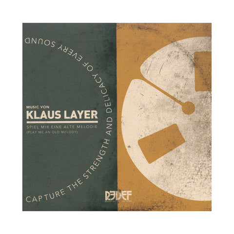 "[""Klaus Layer - 'Spiel Mir Eine Alte Melodie (Play Me An Old Melody)/ Come Back' [(Black) 7\"" Vinyl Single]""]"