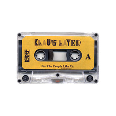 <!--020140812064300-->Klaus Layer - 'For The People Like Us' [(Clear) Cassette Tape]