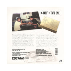 <!--2014081918-->K-Def - 'Tape One' [(Black) Vinyl LP]