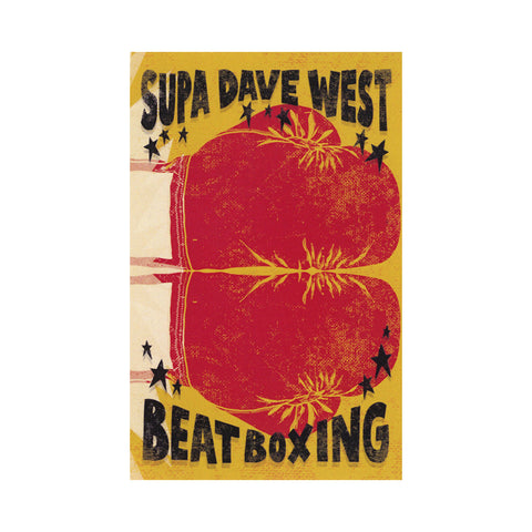 "[""Supa Dave West - 'Beat Boxing' [(Clear Red) Cassette Tape]""]"