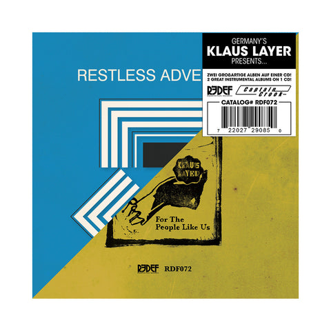 "[""Klaus Layer - 'Restless Adventures + For The People Like Us' [CD]""]"