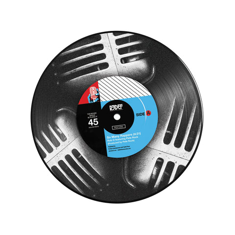 "[""Rob-O b/w Meccalicious - 'So Many Rappers b/w Meccalicious' [(Picture Disc) 7\"" Vinyl Single]""]"