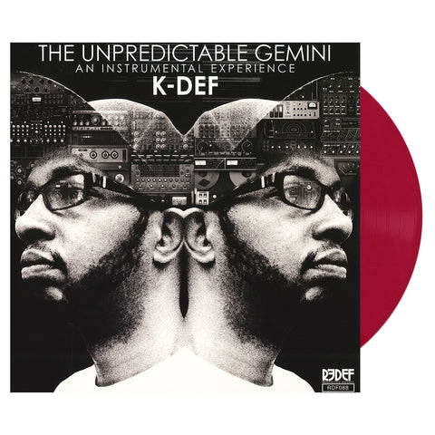 K-Def - 'The Unpredictable Gemini: An Instrumental Experience' [(Two Tone Red) Vinyl LP]