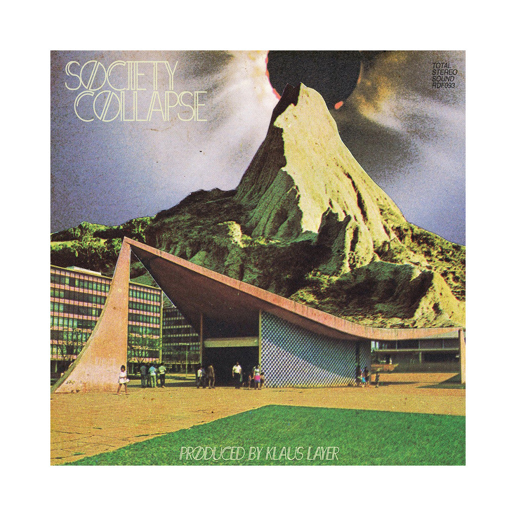 Klaus Layer - 'Society Collapse' [(Black) Vinyl LP]
