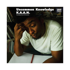 K.A.A.N. - 'Uncommon Knowledge' [(Black) Vinyl EP]