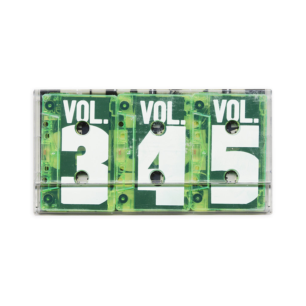 Damu The Fudgemunk - 'How It Should Sound Vol. 3, 4 & 5' [(Neon Green) Cassette Tape]