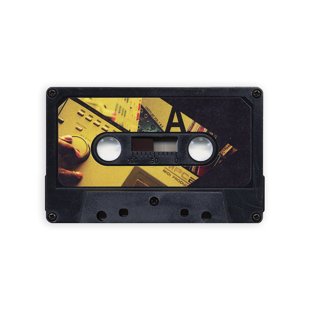 Damu The Fudgemunk - 'Untitled Vol. 1 & 2 EP' [(Black) Cassette Tape]