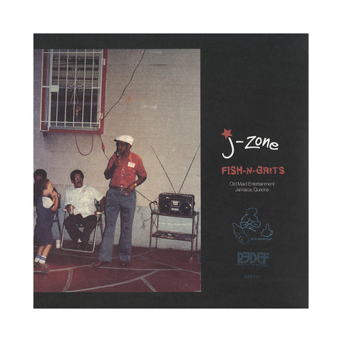 J-Zone - 'Fish-n-Grits' [(Black) Vinyl LP]
