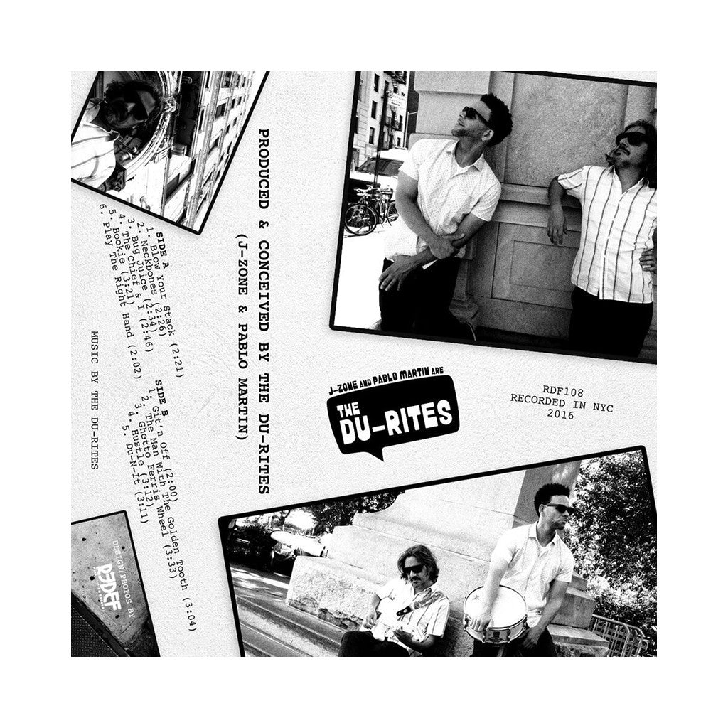 The Du-Rites - 'J-Zone & Pablo Martin Are The Du-Rites' [(Orange) Vinyl LP]