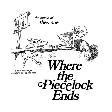 Thes One - 'Where The Piecelock Ends' [(Black) Vinyl LP]