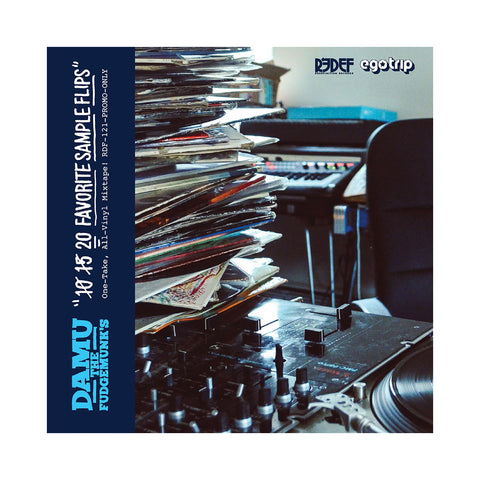 "[""Damu the Fudgemunk - 'Damu the Fudgemunk's 20 Favorite Sample Flips' [(Black) Vinyl LP]""]"