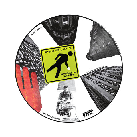 "[""Damu The Fudgemunk - 'Travel At Your Own Pace (Instrumentals)' [(Picture Disc) Vinyl LP]""]"