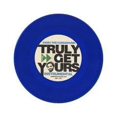 "<!--020110802033457-->Damu The Fudgemunk - 'When Winter Comes/ Truly Get Yours' [(Blue) 7"" Vinyl Single]"