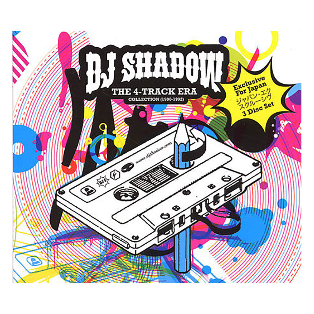 DJ Shadow - 'The 4-Track Era Collection (1990-1992)' [CD [3CD]]