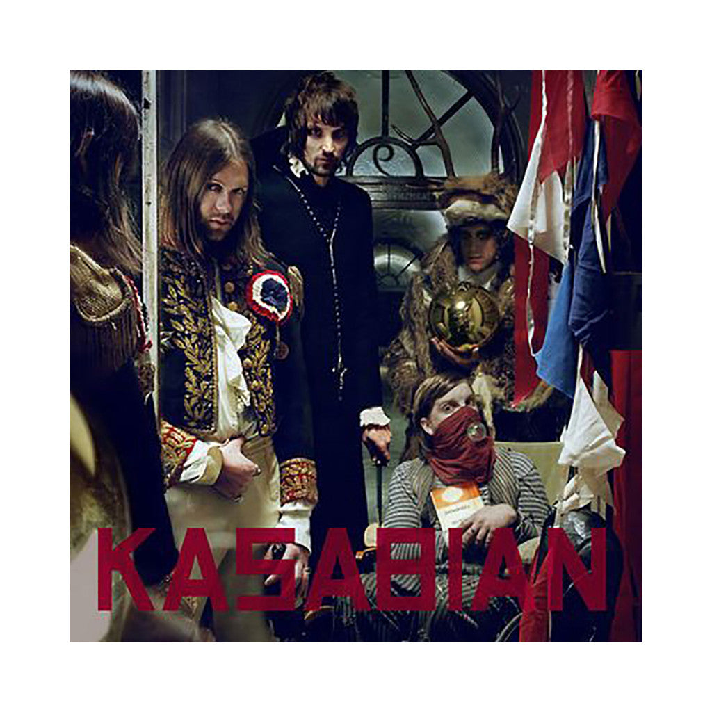 <!--120090609002696-->Kasabian - 'West Ryder Pauper Lunatic Asylum' [CD]