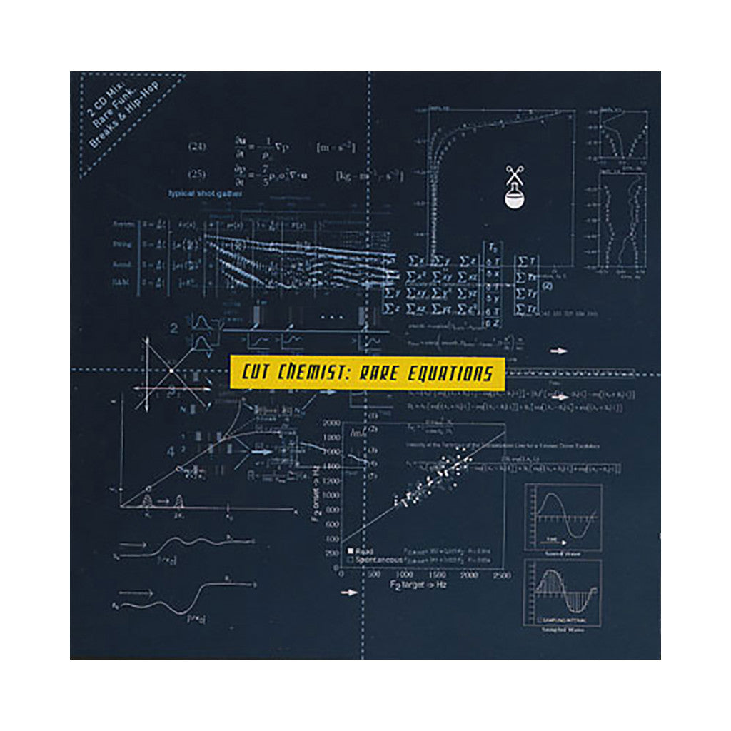 Cut Chemist - 'Rare Equations' [CD [2CD]]