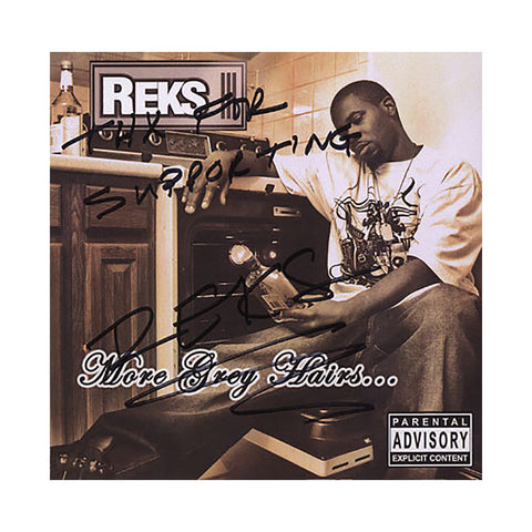 Reks - 'More Grey Hairs' [CD]