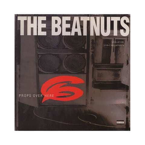 "The Beatnuts - 'Props Over Here/ Yeah You Get Props' [(Black) 12"""" Vinyl Single]"