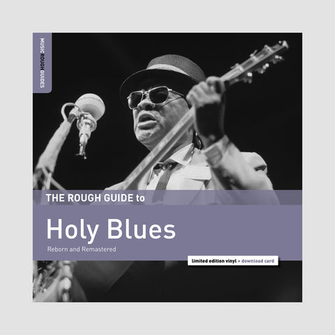 "[""Various Artists - 'The Rough Guide To Holy Blues' [CD]""]"