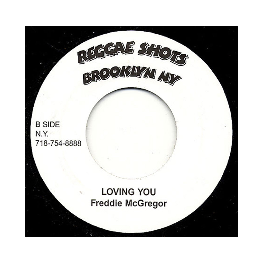"Freddie McGregor - 'Jogging/ Loving You' [(Black) 7"" Vinyl Single]"