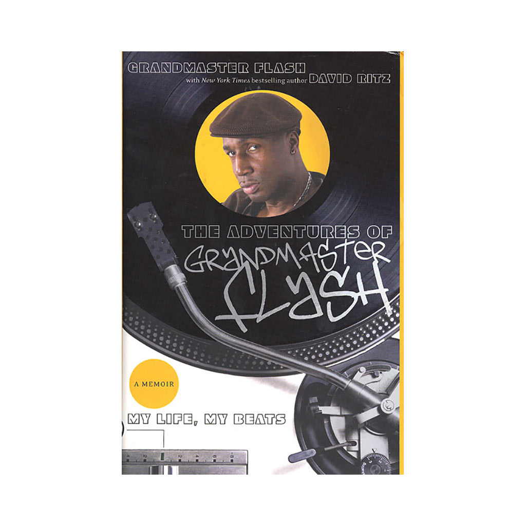 <!--020080708014318-->Grandmaster Flash, David Ritz - 'The Adventures Of Grandmaster Flash: My Life, My Beats' [Book]