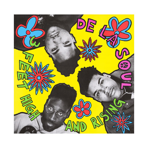 "[""De La Soul - '3 Feet High And Rising' [(Black) Vinyl [2LP]]""]"