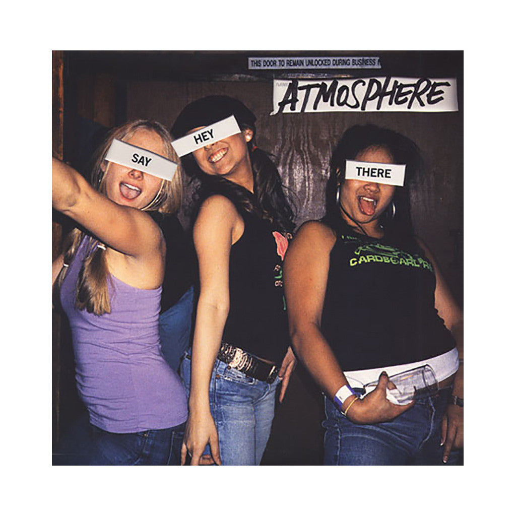 "<!--020060411007017-->Atmosphere - 'Say Hey There/ Panic Attack/ They Call It' [(Black) 12"" Vinyl Single]"