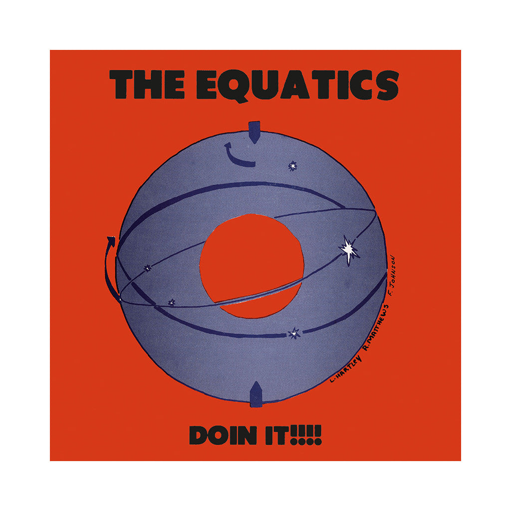 <!--120100202017964-->The Equatics - 'Doin It!!!!' [CD]