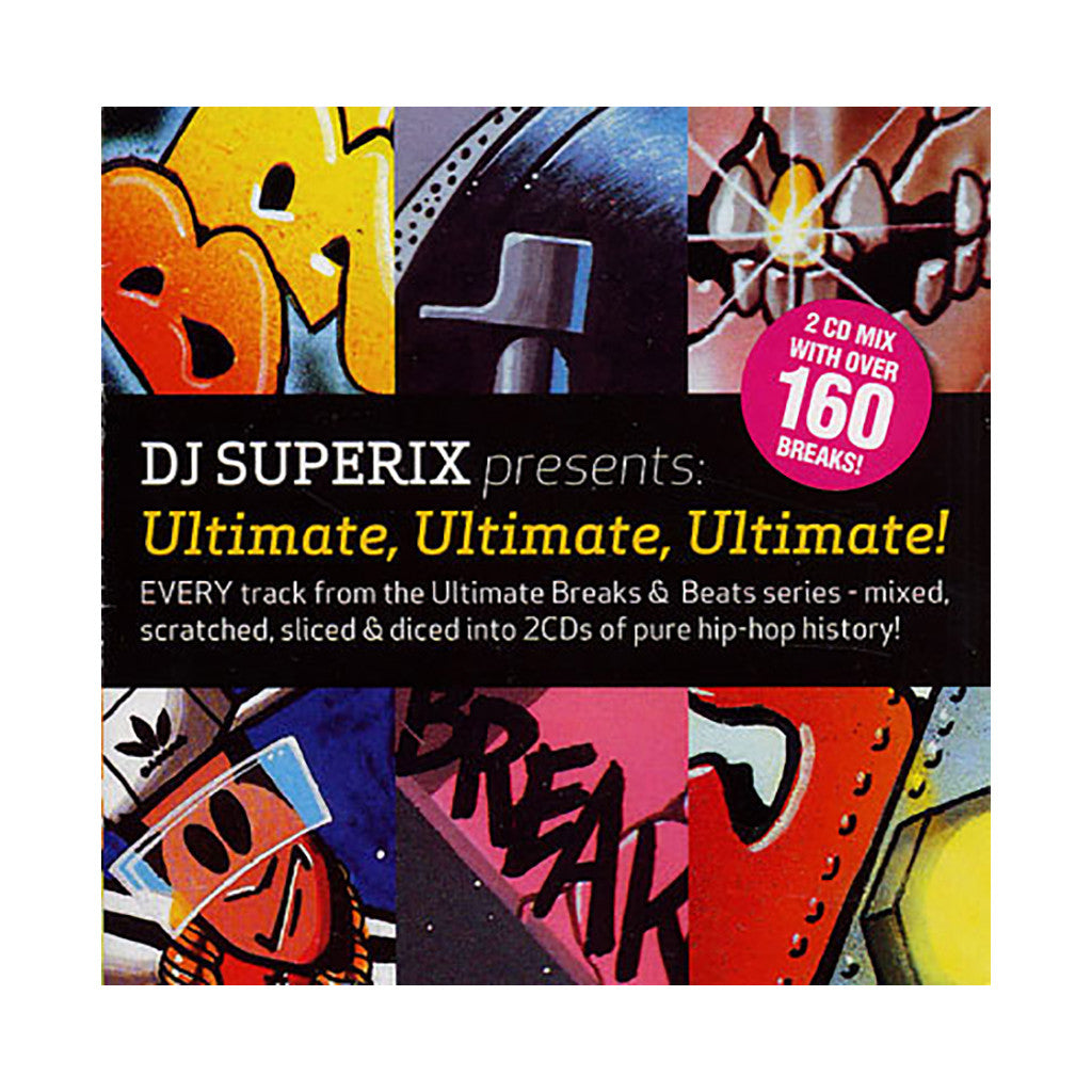 DJ Superix Presents - 'Ultimate, Ultimate, Ultimate! Every Track From The Ultimate Breaks & Beats Series' [CD [2CD]]