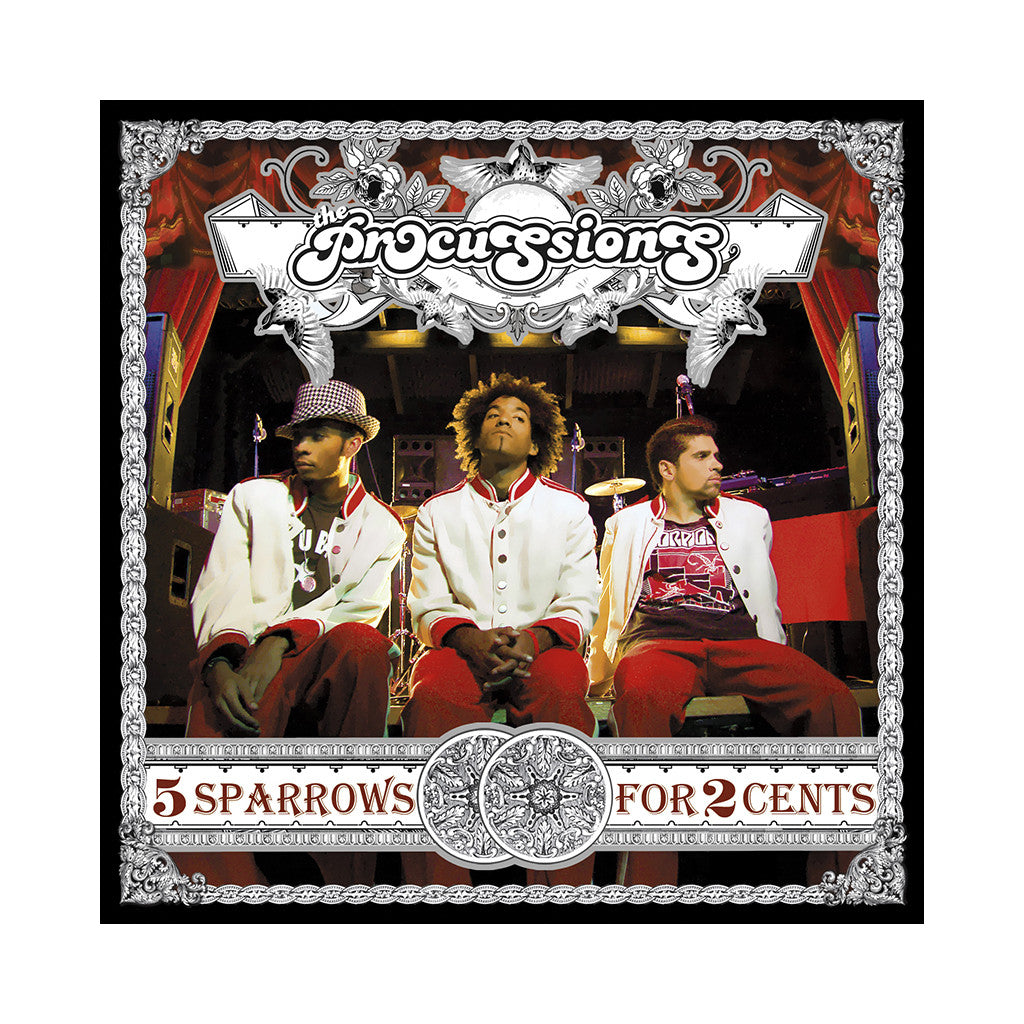 The Procussions - '5 Sparrows For Two Cents' [(Black) Vinyl [2LP]]