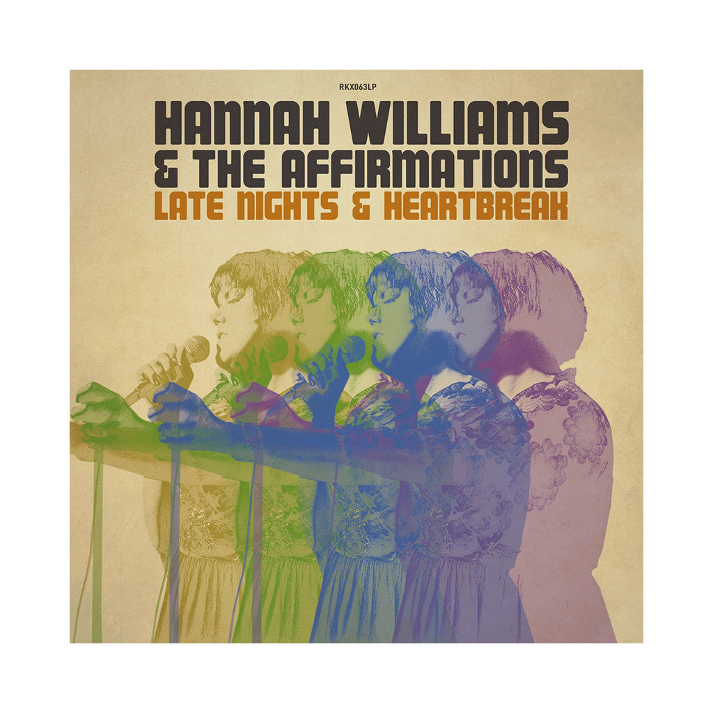 Hannah Williams & The Affirmations - 'Late Nights & Heartbreak' [CD]