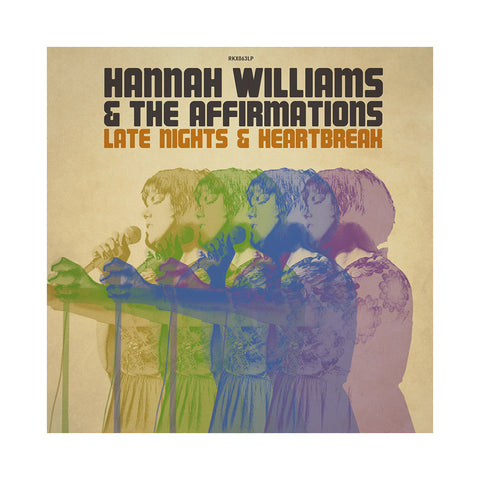"[""Hannah Williams & The Affirmations - 'Late Nights & Heartbreak' [(Black) Vinyl [2LP]]""]"