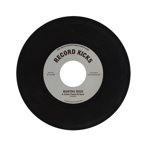 "[""Martha High - 'A Little Taste Of Soul/ Unwind Yourself' [(Black) 7\"" Vinyl Single]""]"